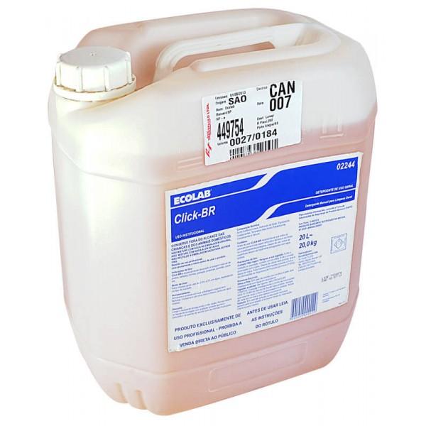 Click BR Detergente manual ECOLAB